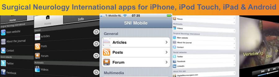 SNI Mobile apps banner